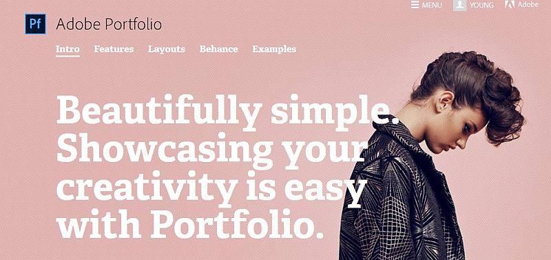 adobe my portfolio 800