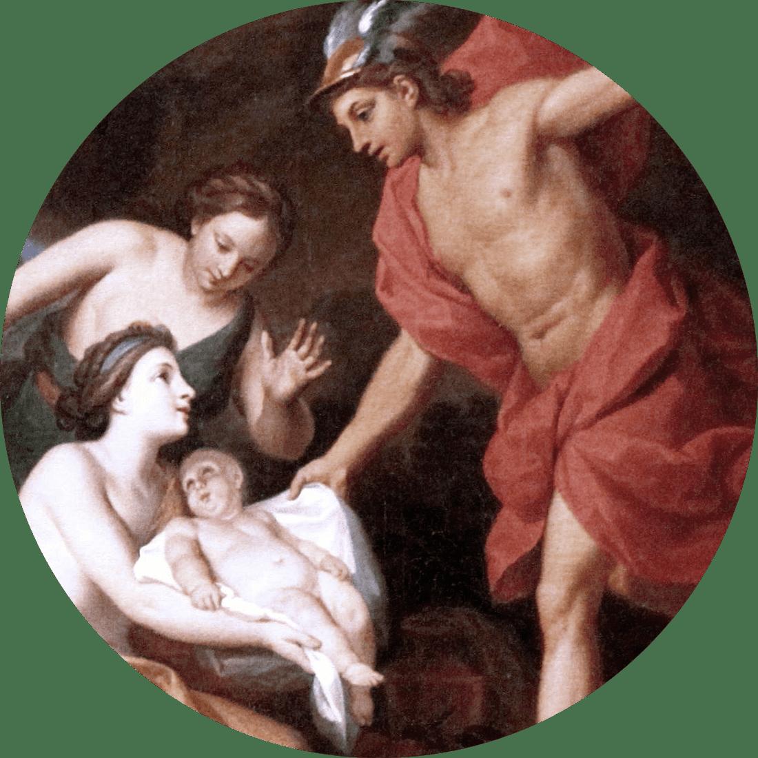 hermes et al by Louis de Boullogne II 1100 1100