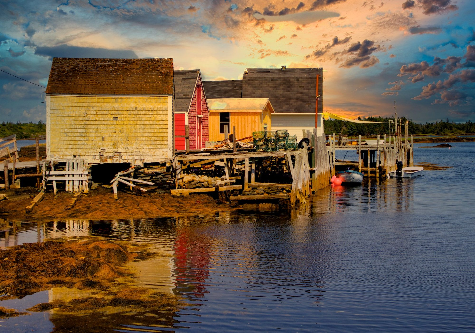 Golden Hour Slider and the Magic Reflection - Fred Raiford