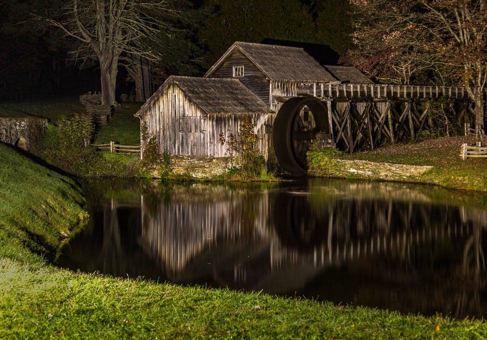 Mabry Mill Mile Post 176