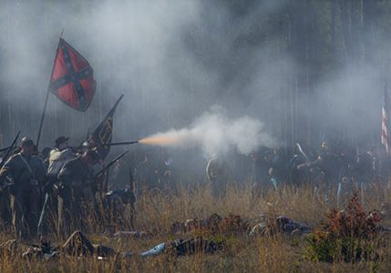 Stand Your Ground - Olustee Reenactment by Chuck Shealy
